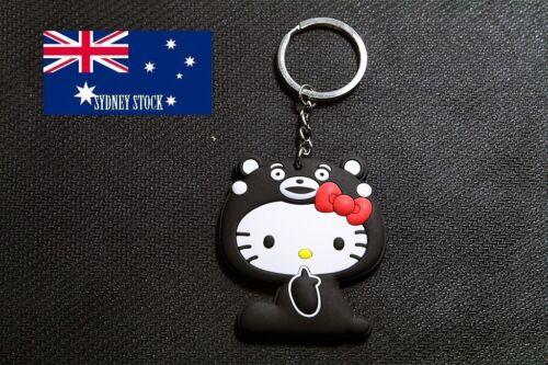 Hello Kitty PVC Silicone Keyring Cartoon Bag Tag Sports School Bag Tag