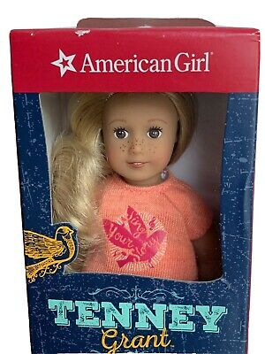 American Girl Mini Doll Tenney New in sealed box in an Adorable Dress