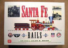 GMT Santa Fe Rails, by Alan Moon, exc cond; Bonus: extra player aids