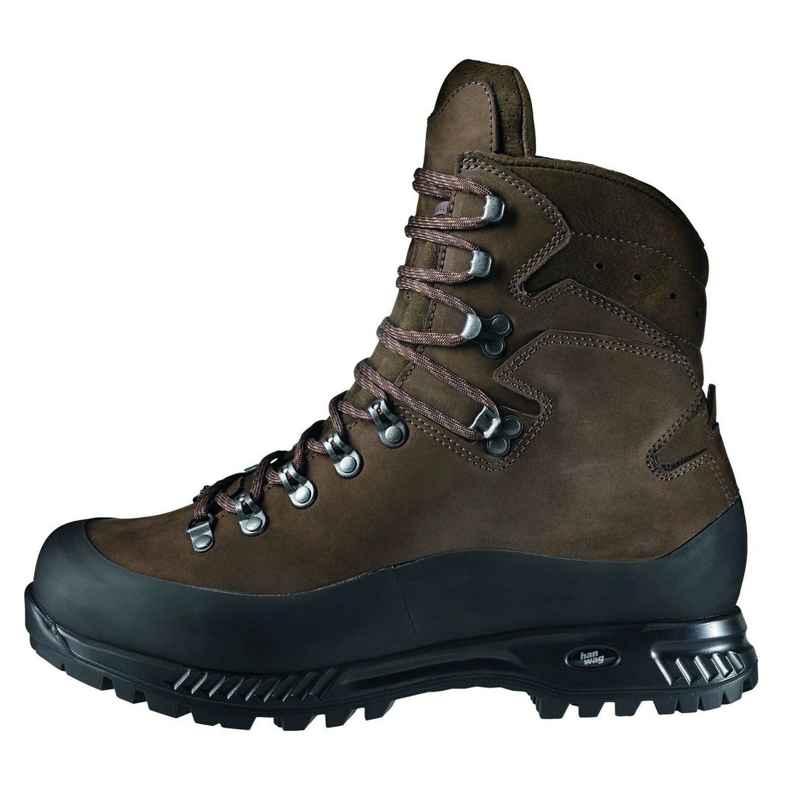 Hanwag Mountain shoes Ancash Leather Size 10,5 -  45 Earth  fast shipping to you