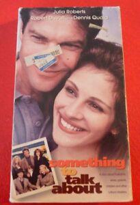 VHS-Movie-Something-to-Talk-About-Julia-Roberts-Dennis-Quaid