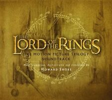 Lord Of The Rings DER HERR DER RINGE Complete Trilogy SOUNDTRACK 3 CD Box NEU