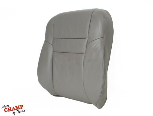03-07 Honda Accord 4-Door EX SE LX-Driver Side Lean Back Leather Seat Cover Gray
