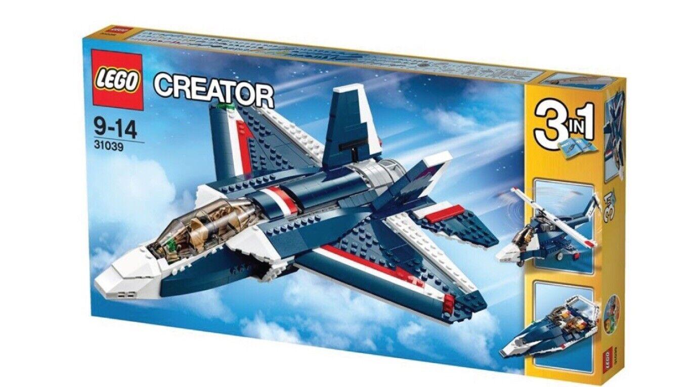 Nouveau LEGO Creator Power Jet-Bleu  31039 Hélicoptère 3in1 Vitesse Bateau Fighter plabe  économiser jusqu'à 70%