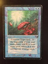 **ENGLISH** Mana Drain Legends MTG Magic the Gathering MP Condition