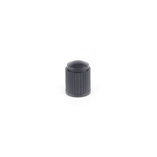 100x Black Plastic Dust valve caps bike car wheel tyre air valve stem cap SG G3
