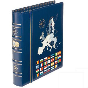 Euro Coins collection album Leuchtturm 346697 OPTIMA Currency Money Coins Album
