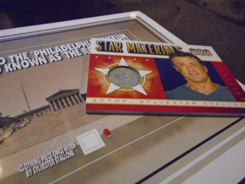 ROCKY movies steps personal SWATCH tiny piece SYLVESTER STALLONE worn clothing