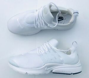 0aece327333ee Nike Air Presto Essential Running Shoes 848187-100 White Black Mesh ...
