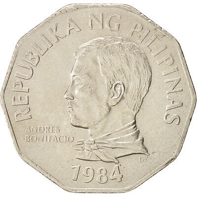 Dynamic [#48838] Philippines, 2 Piso, 1984, Copper-nickel, Km:244 With The Best Service