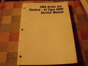 1991 arctic cat el tigre ext manual