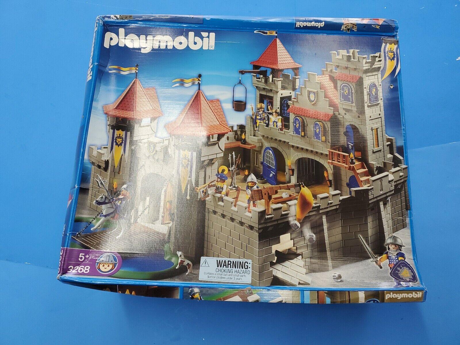 プレイモービル3268騎士帝国城新しいオープンボックスミニジオラマギフトクリスマス