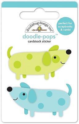 Doodlebug Design Inc. Doodle-Pops Teeny Weenie Dogs Stickers