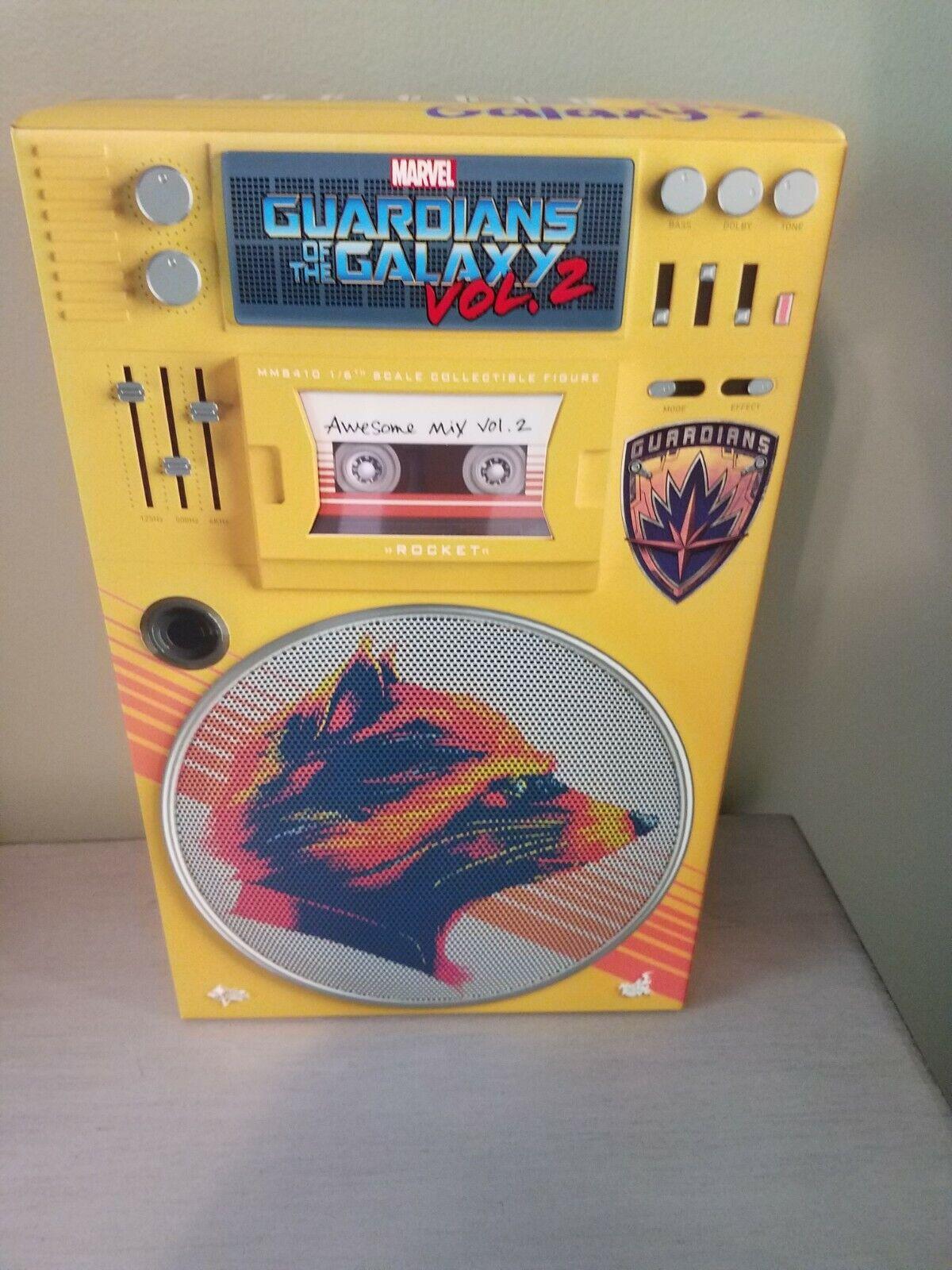 Hot Toys Rocket Guardians of the Galaxy Volume 2 Normal Please Read Description on eBay thumbnail