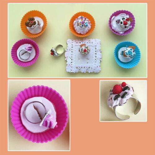Wholesale job lot jewellery Handmade Cute Rings one size