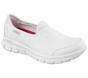Skechers Womens Work: Relaxed Fit Sure Track 76536EC Slip On
