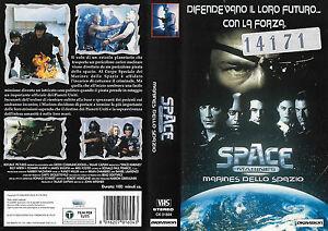 SPACE MARINES - MARINES DELLOSPAZIO (1998) vhs ex noleggio - Italia - SPACE MARINES - MARINES DELLOSPAZIO (1998) vhs ex noleggio - Italia