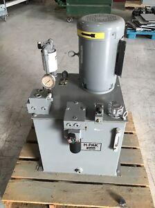 Parker Hydraulic Pump H2B4 5MOPHKO/13 With Baldor 7 5 HP