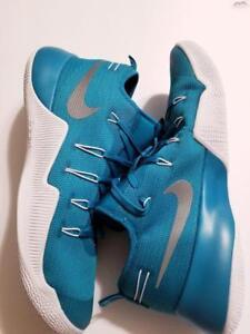 7ac8df6cc1ca Nike Hypershift TB 856488-332 Teal White Men s Basketball Shoes Sz ...