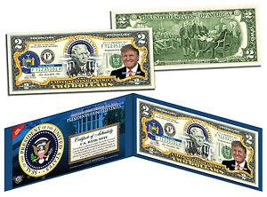 DONALD-TRUMP-Presidential-Series-45-Genuine-Legal-Tender-U-S-2-Bill