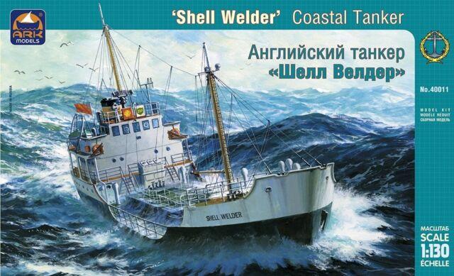 ARK MODELS 40011 - British Coastal Tanker SHELL WELDER / Scale Model Kit 1:130