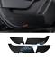 Carbon Fiber Door Anti Kick Pad Protective Trim For Mercedes-Benz GLE W166 15-19