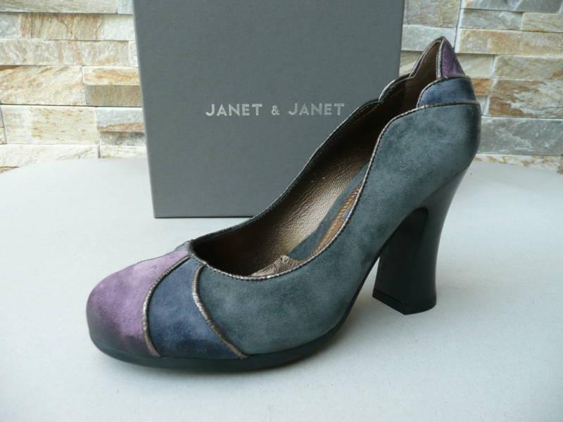 orig JANET & JANET Gr 35 Pumps Heels Schuhe Shoes neu UVP 190 €