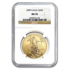 2009 1 oz Gold American Eagle Coin - MS-70 NGC - SKU #57310