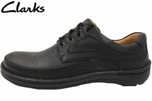 Details zu Clarks Nature III Herren Schuh Schwarz Schuhe Leder 203390087
