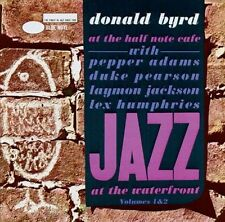 At the Half Note Cafe Vol. 1 & 2 CDs by Donald Byrd Blue Note Cat# 57187 Import