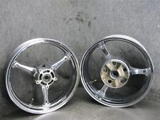 07 Suzuki GSXR GSX-R 600 Chrome Front Rear Rim Wheel Set R48