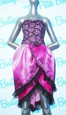 EVER AFTER HIGH 1ST CHAPTER BRIAR BEAUTY DOLL OUTFIT REPLACEMENT ROSE DRESS ONLY
