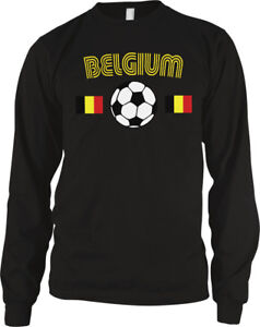 Image is loading Belgium-Country-Flag-Soccer-Football-Belgian-Red-Devils- 830eb97ad