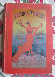 1891-Physique-populaire-Desbaux-sciences-illustre-4-chromo-litho-cartonnage