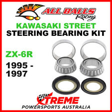 Kawasaki ninja ZX-9R 1999 steering head stock tige conique roulement /& seals kit
