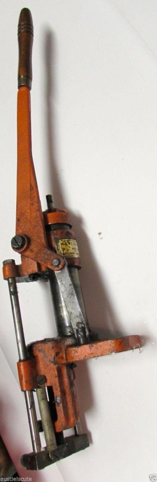 Lyman 45 bala lubricador Tallar Luber Fundido bala gas cheque Ideal lubriTallar