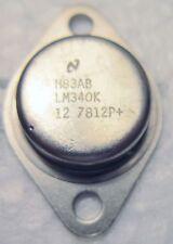 LM340K-12 NSC 10AMP LINEAR VOLTAGE REGULATOR POWER TRANSISTOR 6080V 150W