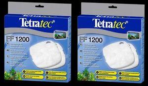 Straightforward 2 X Tetratec External Filter Floss Pad Media Ex1200 Tetra 1200 Fish Tank Pet Supplies Fish & Aquariums