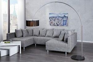 Piantana lampada ad arco noble nero marmo lounge design lampada