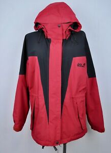 Details about JACK WOLFSKIN Jacket GORE TEX Large Women Jacket UK 14 16 Hooded Hiking L Ladies