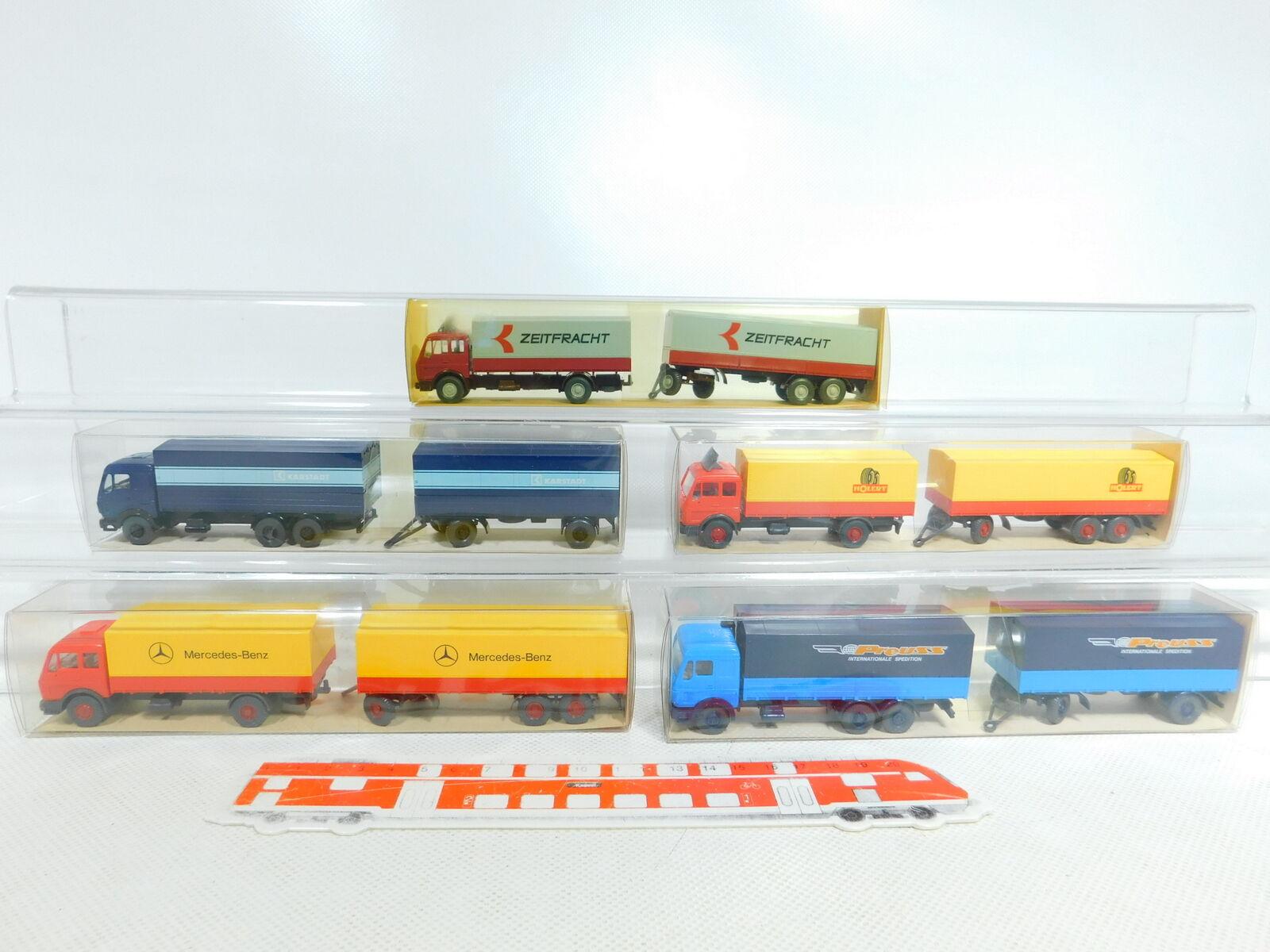 BX340-0,5 X Wiking 1 87   H0 Tren de Carretera MB  455 Zeitfracht Holert +