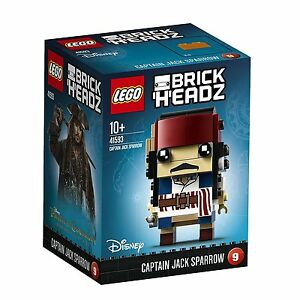 Lego brickheadz 41593 Capitaine Jack Sparrow Personnage Disney Brick Headz #09 							 							</span>