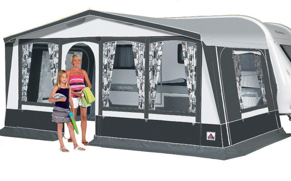 Dorema Dorema Dorema Vorzelt Bergamo DeLuxe Gr. 12 Wohnwagen Zelt Camping d9fb0b