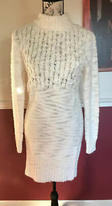 American-Eagle-Outfitters-Ivory-Dress-Women-s-Size-Small