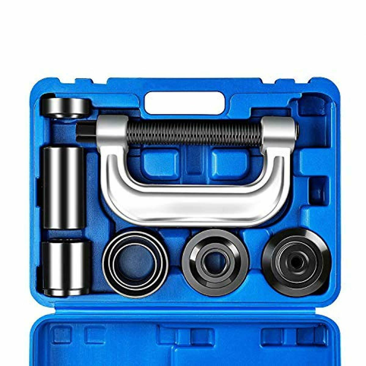 OrionMotorTech Heavy Duty Ball Joint Press & U Joint Removal Tool Kit with 4x4 A