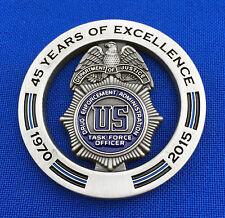 Drug Enforcement Administration Task Force Officer DEA TFO Police Challenge Coin