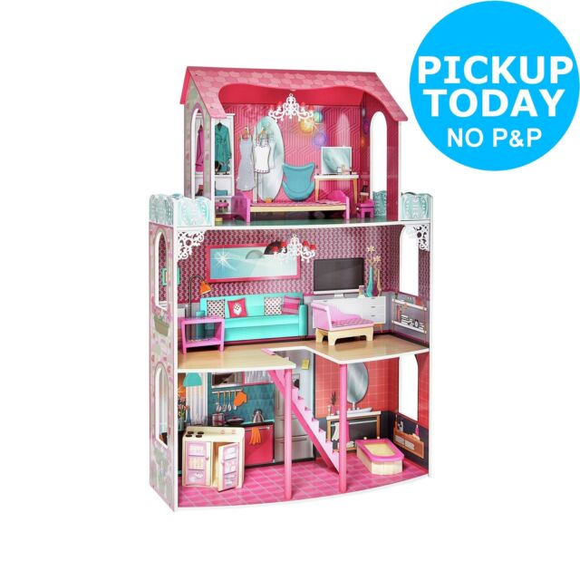 Chad Valley 3 Storey Glamour Mansion Dolls House. From the Argos Shop on ebay