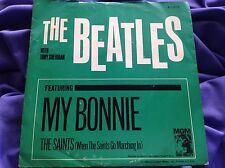 Original Beatles 45 W/PS : The Beatles ~ My Bonnie ~ The Saints ~ M-G-M K13213