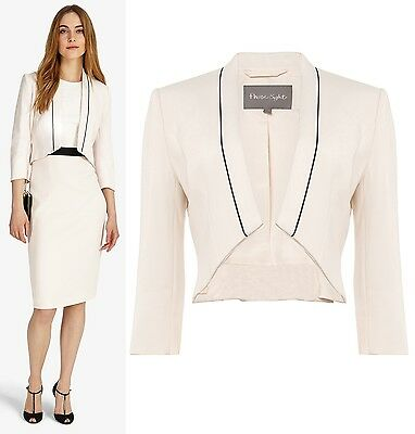 Phase Eight Maeve Blazer Jacket in Light Pink Sizes 8 to 20
