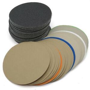 6 Zoll 150mm Wasserdichte Schleifscheiben Klettpapier 600-10000 Körnung